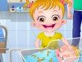 Bebek Ela oyununu oyna