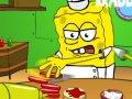 Hamburger ve S�ngerbob oyununu oyna